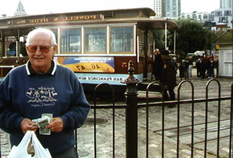 The high life on the street cars of San Francisco